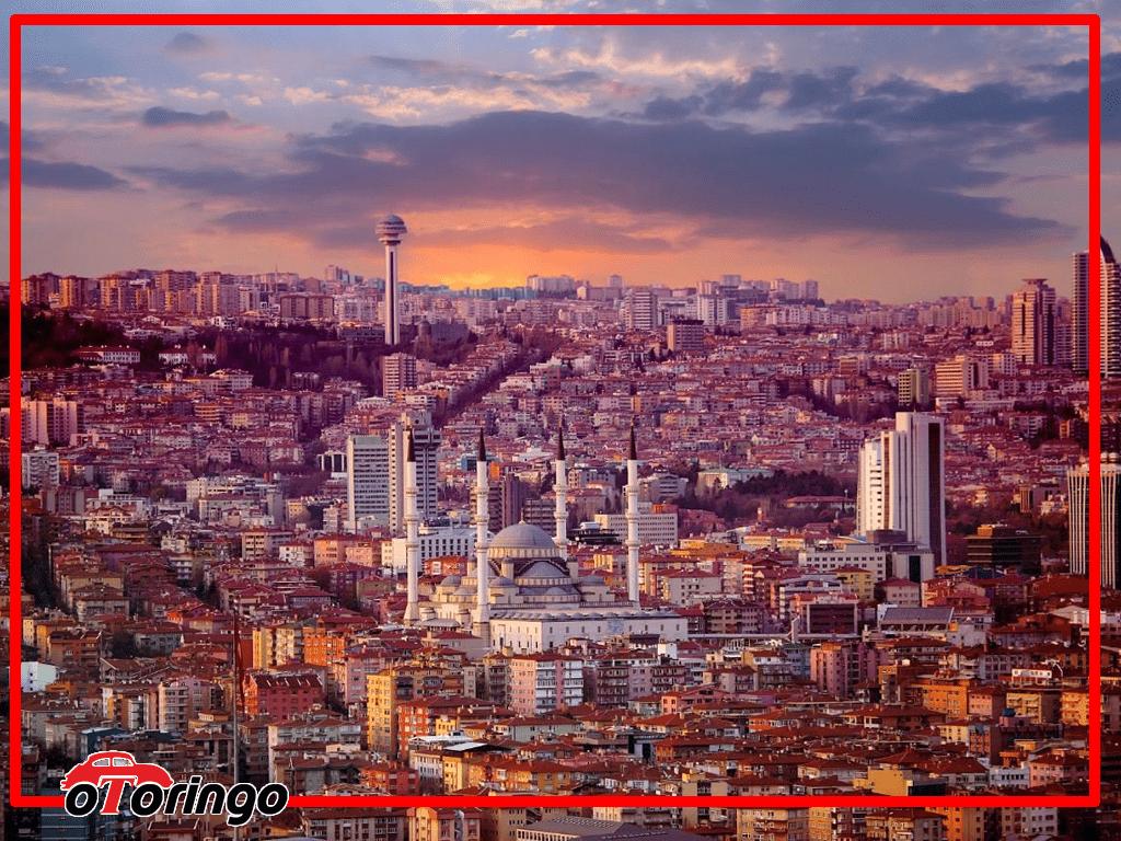 Ankara Autovermietung und sightseeing