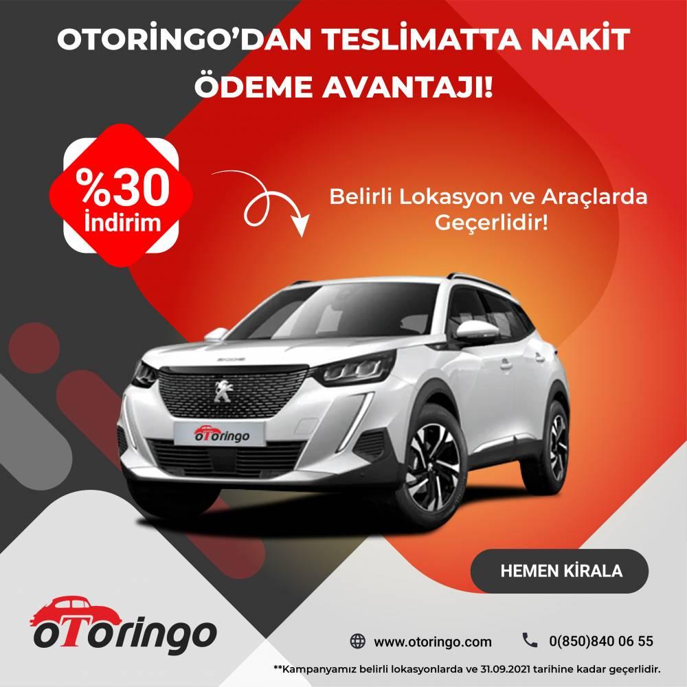 Otoringo'dan Yurtdışı Müşterilerine Özel Teslimatta Nakit Ödeme Avantajı!
